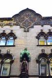 Vecchia Budapest di costruzione pittoresca Fotografia Stock