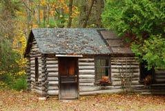 Vecchia cabina Fotografie Stock