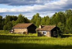 Vecchia cabina fotografia stock libera da diritti