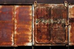 Vecchia cabina del treno Fotografie Stock Libere da Diritti