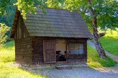 Vecchia cabina di legno Fotografia Stock Libera da Diritti