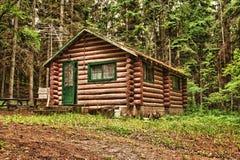 Vecchia cabina di libro macchina rustica Fotografie Stock