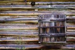 Vecchia cabina lungamente imbarcata-su immagine stock libera da diritti