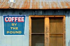 Vecchia caffetteria fotografia stock libera da diritti