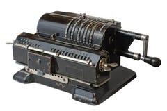 Vecchia calcolatrice Fotografia Stock Libera da Diritti