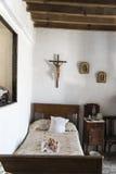 Vecchia camera da letto della fattoria Fotografia Stock