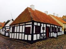 Vecchia Camera danese Ebeltoft immagini stock