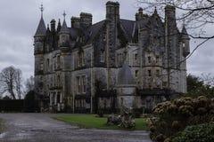 Vecchia Camera del castello di lusinga in Irlanda Fotografia Stock