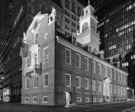Vecchia Camera dello stato di Massachusetts fotografie stock