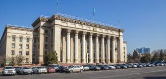 Vecchia Camera di governo a Almaty Fotografia Stock