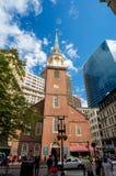 Vecchia Camera di riunione del sud giù in città Boston Fotografia Stock