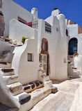 Vecchia Camera in Santorini Immagini Stock Libere da Diritti