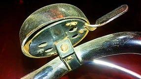 Vecchia campana della bicicletta fotografie stock