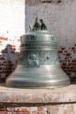 Vecchia campana di chiesa yaroslavl Federazione Russa 2017 fotografia stock