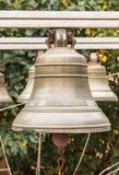 Vecchia campana di chiesa yaroslavl Federazione Russa 2017 immagini stock libere da diritti
