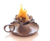 Vecchia candela Immagine Stock