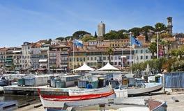 Vecchia Cannes, Francia Fotografia Stock