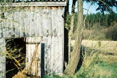 Vecchia capanna fotografie stock libere da diritti
