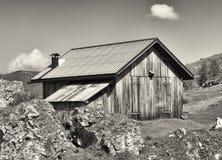Vecchia capanna Fotografia Stock Libera da Diritti