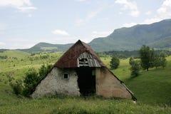 Vecchia capanna pastorale Immagine Stock Libera da Diritti