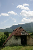 Vecchia capanna pastorale Fotografie Stock