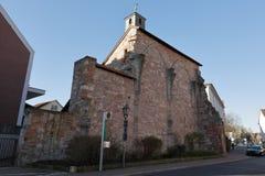 Vecchia cappella del monastero di Eschwege fotografia stock libera da diritti
