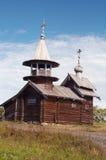 Vecchia cappella di legno Fotografia Stock