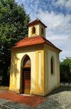 Vecchia cappella di Praga Fotografie Stock Libere da Diritti