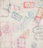 Vecchia carta Immagine Stock