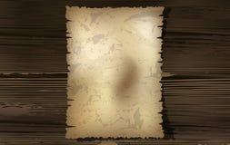 Vecchia carta Immagini Stock