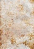 Vecchia carta in bianco antica antica nociva Immagini Stock