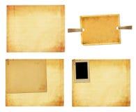 Vecchia carta d'annata con le strutture di lerciume per le foto Fotografie Stock Libere da Diritti