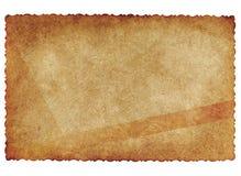 Vecchia carta di antiquariato Fotografia Stock Libera da Diritti
