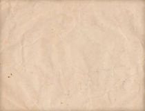 Vecchia carta di lerciume strutturata sgualcita Immagine Stock