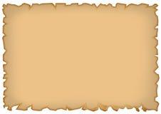 Vecchia carta disegnata Fotografie Stock