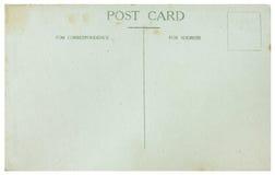Vecchia cartolina fotografie stock libere da diritti