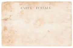 Vecchia cartolina illustrazione di stock
