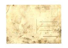 Vecchia cartolina Fotografia Stock