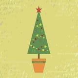 Vecchia cartolina di Natale Fotografia Stock Libera da Diritti