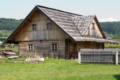 Vecchia casa Fotografia Stock Libera da Diritti