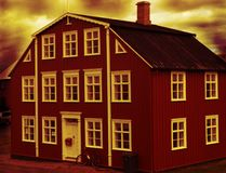 Vecchia casa Immagine Stock Libera da Diritti