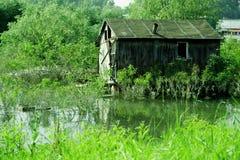 Vecchia casa Fotografie Stock