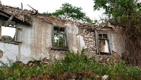 Vecchia casa abbandonata 2 Fotografia Stock Libera da Diritti