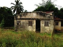 Vecchia casa Africa Immagine Stock Libera da Diritti