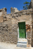 Vecchia casa in Almudevar (l'Aragona) Immagine Stock Libera da Diritti