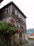 Vecchia casa in Amasra fotografie stock libere da diritti