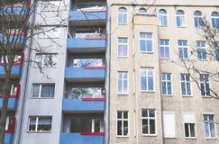 Vecchia casa a Berlino Fotografia Stock Libera da Diritti