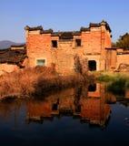 Vecchia casa cinese Fotografie Stock Libere da Diritti