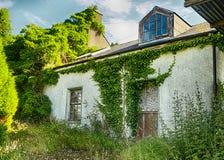 Vecchia casa, Co Il Donegal fotografia stock