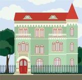 Vecchia casa d'annata royalty illustrazione gratis